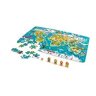Hape Mapa sveta 2 v 1 - Puzzle