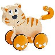 Hape Kočka - potlač a jeď - Hračka pre najmenších