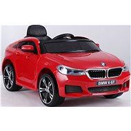 BMW 6GT, červené - Detské elektrické auto