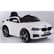 BMW 6GT, biele - Detské elektrické auto