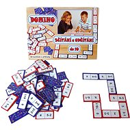 Domino sčítanie a odčítanie do 10 - Hra