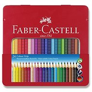Faber-Castell Grip 2001, 24 farieb - Pastelky