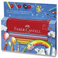 Faber-Castell Grip 2001, 16 farieb - Pastelky