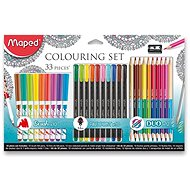 Maped Colouring, 33 ks - Sada