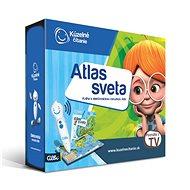 Kúzelné Čítanie – Atlas Sveta s Elektronickou Ceruzkou Albi SK - Kniha pre deti