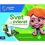Kúzelné Čítanie – Svet Zvierat s Elektronickou Ceruzkou Albi SK - Kniha pre deti