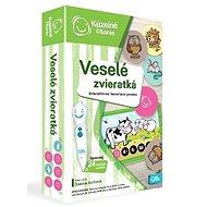 Kúzelné Čítanie – Hra Pexeso: Veselé Zvieratká SK - Kniha pre deti