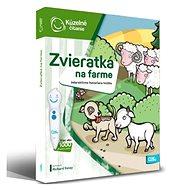 Kúzelné Čítanie – Kniha Zvieratká Na Farme SK - Kniha pre deti