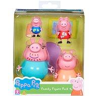 Peppa Pig set figúrok 4 ks - Herná sada