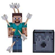 Minecraft Steve so šípkami - Figúrka