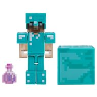 Minecraft Steve s elixírom neviditeľnosti