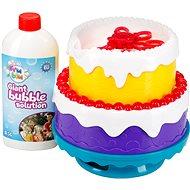 Fru Blu bublinová torta - Bublifuk