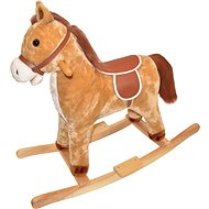 Hojdačka Kôň drevený