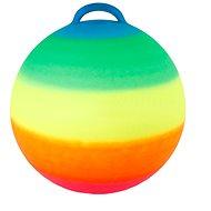 Skákacia lopta dúhová - Detské skákadlo