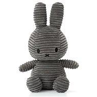 Miffy Corduroy dark grey 24 cm