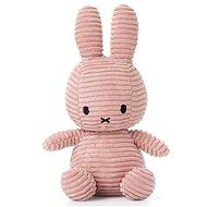 Miffy Corduroy dark pink 24 cm - Plyšová hračka