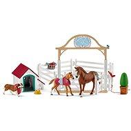 Schleich 42458 Hosťujúce kone, Hannah s fenkou Ruby - Figúrky