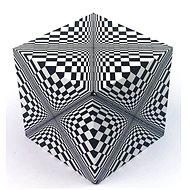 Geobender Cube Design Abstract - Hlavolam