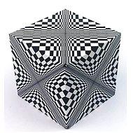 Geobender Cube Design Abstract