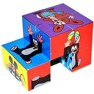 Skladacia kocka Krtko - Obrázkové kocky