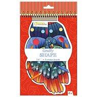 Avenue Mandarine Maľovanky s nálepkami vtáci - Súprava hier