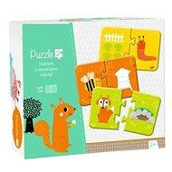 Avenue Mandarine Duo puzzle Zvieratká a ich obydlia - Puzzle