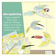 Avenue Mandarine Velký kreativní box Decoupage ptáci - Kreatívna súprava