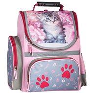 Aktovka s mačkou - Školský batoh