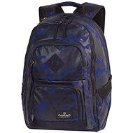Flock Camo Blue - Školský batoh