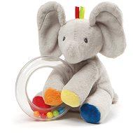 Gund Sloníča flappy s hrkálkami - Plyšová hračka