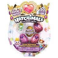 Hatchimals kráľovské zvieratká štvorbalenie s bonusom S6 - Figúrky