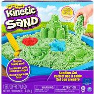 Kinetic Sand hrad z piesku – zelený - Kreatívna súprava
