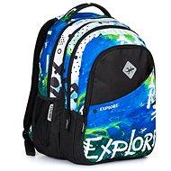 Daniel blue Rainbow 2 v 1 - Školský batoh