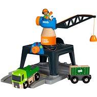 Brio 33962 Jeřáb Smart Tech - Vláčikodráha