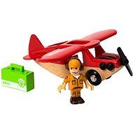 Brio 33963 Safari lietadlo - Vláčikodráha