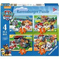 Ravensburger 069361 Tlapková hliadka 4 v 1 - Puzzle