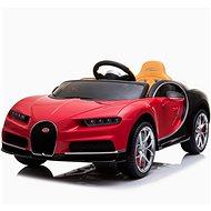 Bugatti Chiron – červené - Detské elektrické auto