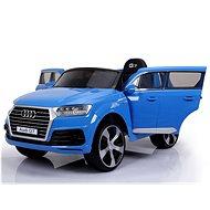 Audi Q7 – modré lakované - Detské elektrické auto
