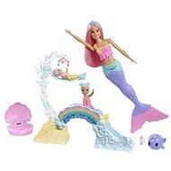 Barbie Dreamtopia Herná sada s morskou vílou - Bábika