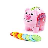 Fisher-Price Prasiatko pokladnička CZ - Interaktívna hračka