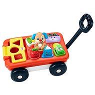 Interaktívna hračka Fisher-Price Hovoriaci vagónik CZ