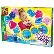 SES Výroba farebných mydiel - Vyrábanie pre deti