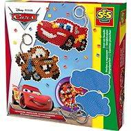 SES Zažehľovacie koráliky Disney Cars, prívesky na kľúče - Kreatívna súprava