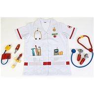 Doktorský oblek s doplnkami - Kostým