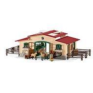 Schleich 42195 Stáj s koňmi a příslušenstvím - Herný set