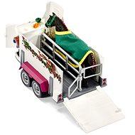 Schleich 42346 Pick–up s přívěsem a koněm - Herný set