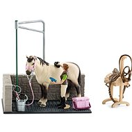 Schleich 42104 Washing compartment for horses with accessories - Game Set