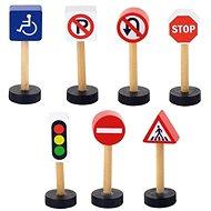 Drevené dopravné značky - Drevená hračka