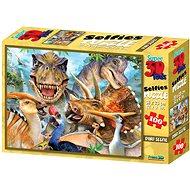 Puzzle Dino selfie 100 dielikov - Puzzle