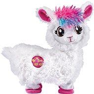 Tancujúca Lama – biela - Plyšová hračka
